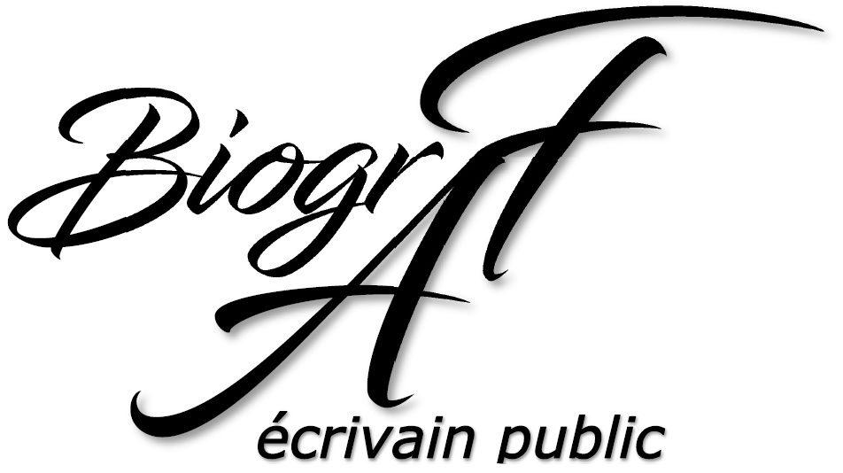 BiogrAF – Mettre les mots sur vos idées